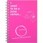 Remarkable recycled Notebook