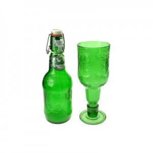 Grolsch recycled goblets