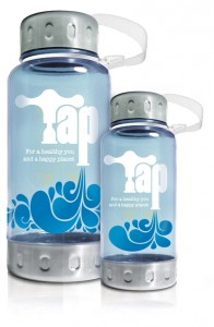We want tap reusable bottles