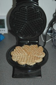 waffle makes for zero waste meals