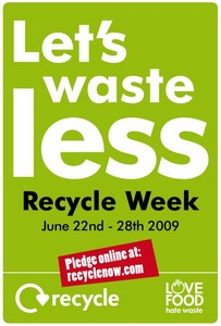 have you taken the pledge? Join in with WRAPs Recycle week!