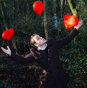 Gareth Mitchell, founder of Tree2mydoor getting in the mood for love!